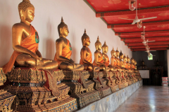 Wat Pho hosts 1000 Buddha pictures