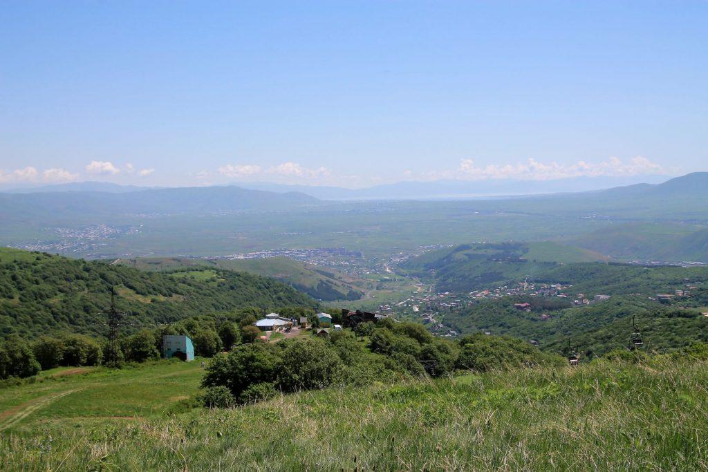 Tsakhadzor mountain view