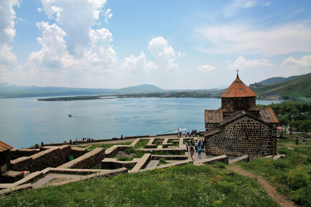 Lake Sevan and Monastery Sevanavank