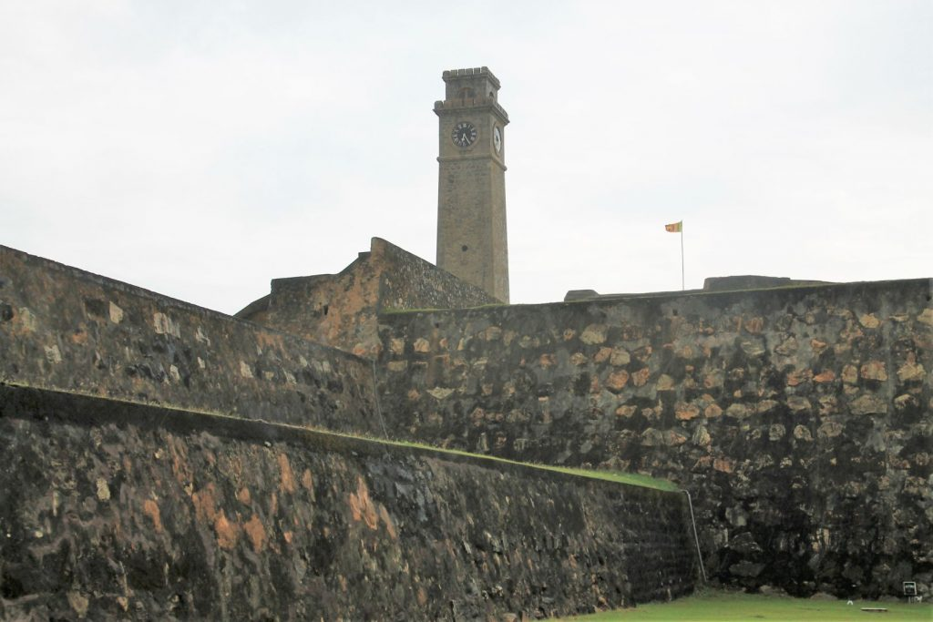 Walls and Tower of Galle Fort