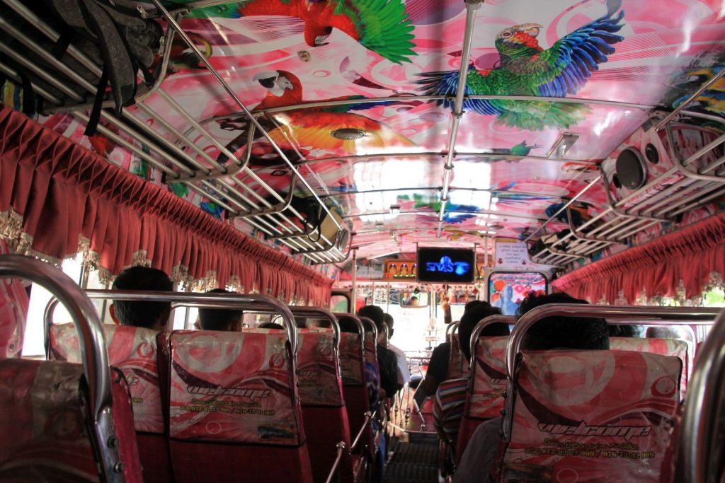 Bus to Ravana Falls