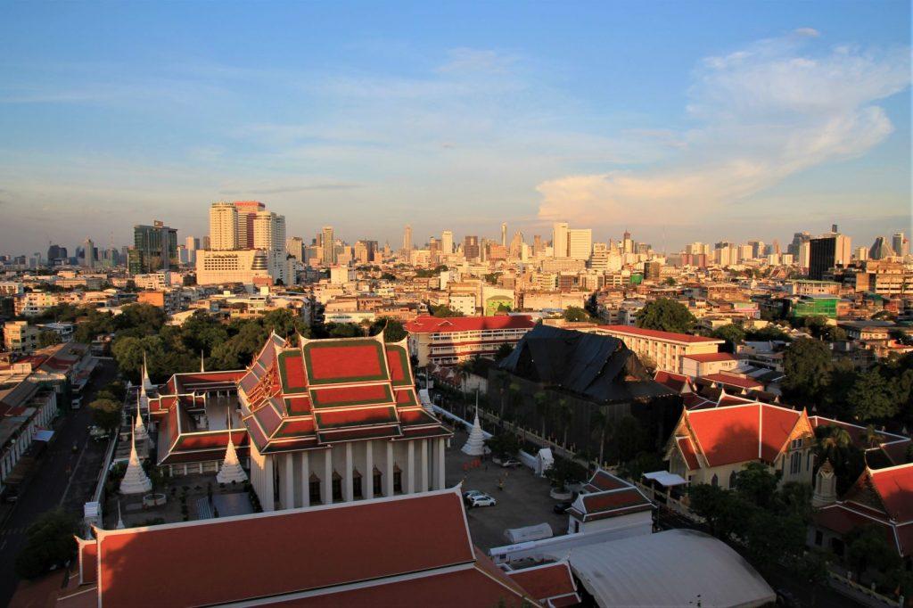Bangkok from the Golden Mount