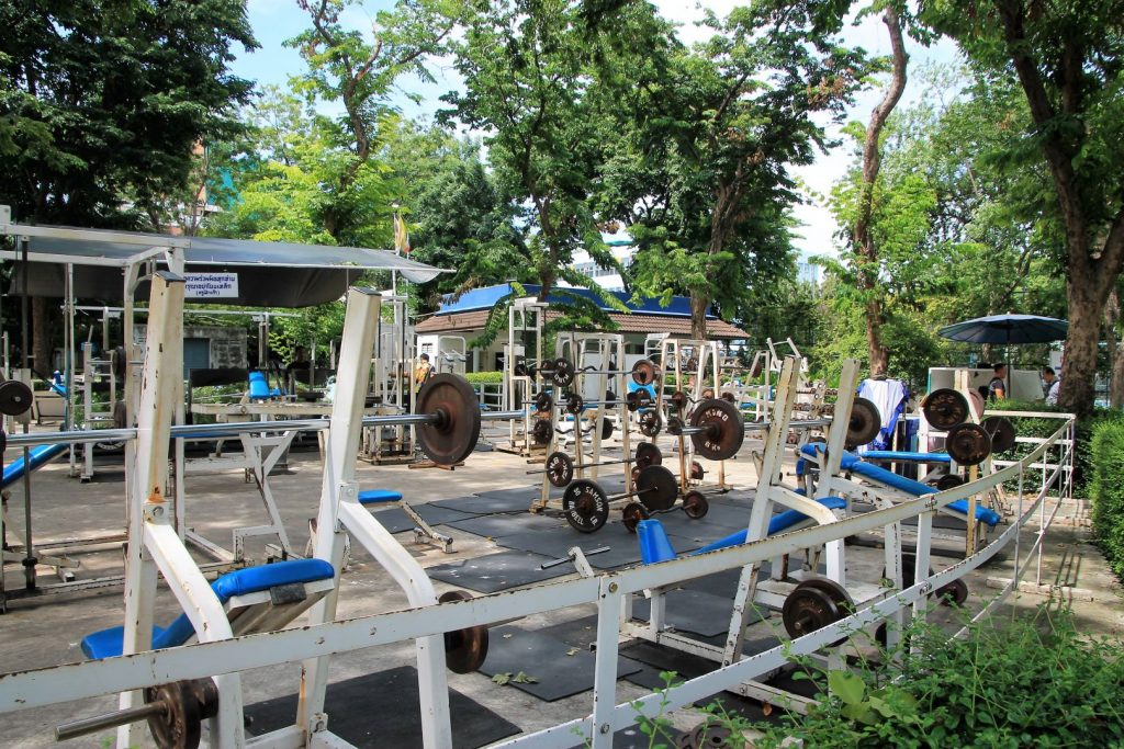 Outdoor Gym an Rommaninat Park