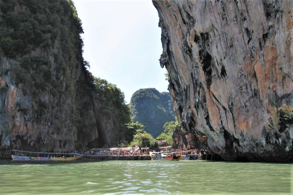 Landing place at Khao Phing Kan