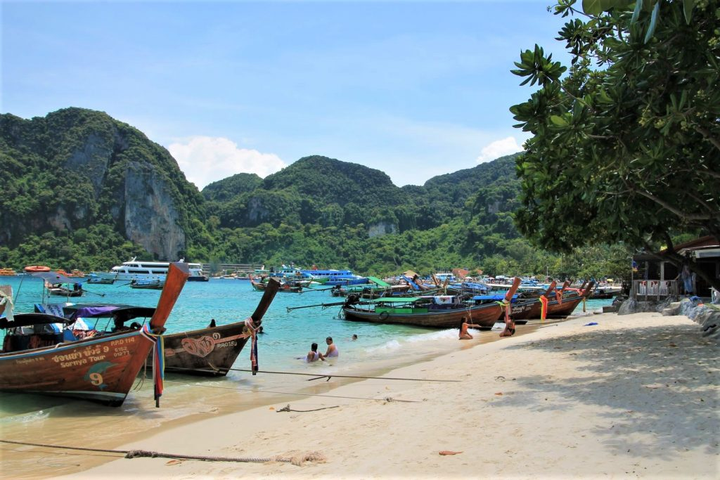 Tonsai Beach at Phi Phi Don