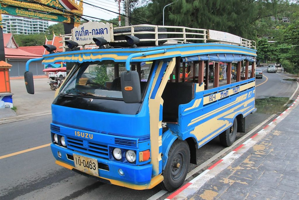 Song Taew - The Blue Bus Kamala - Phuket