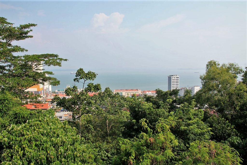 View from the Observation Platform Sandakan