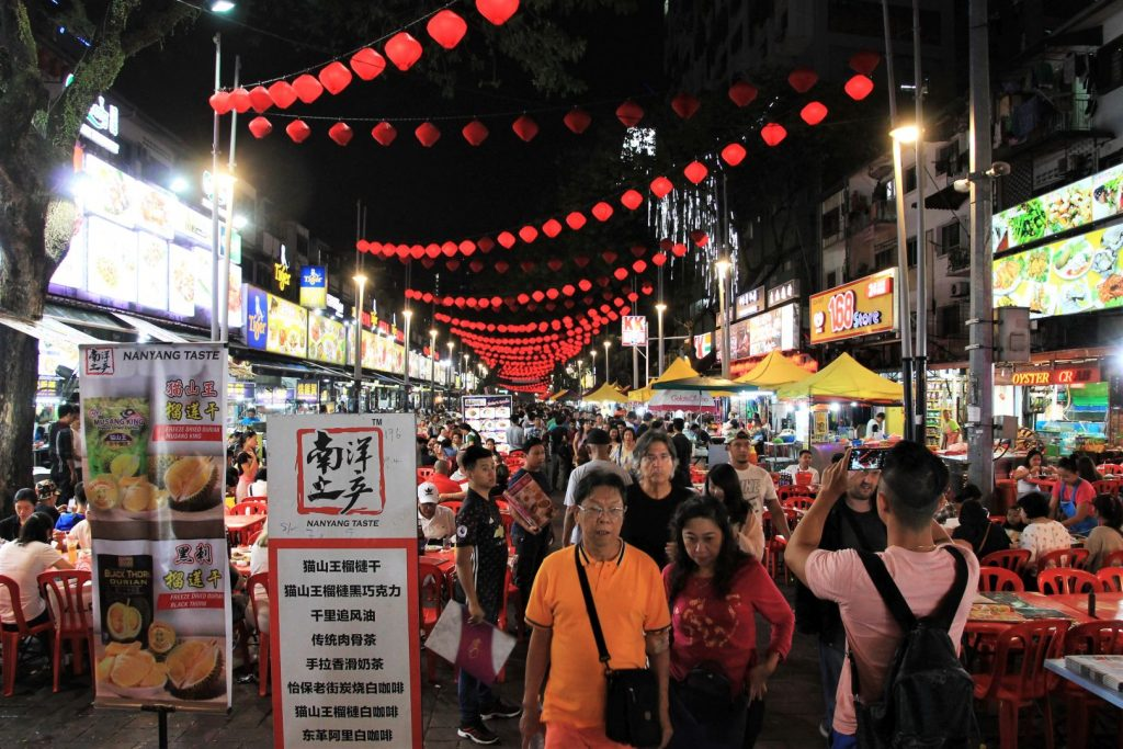 Jalan Alor Night Food Court