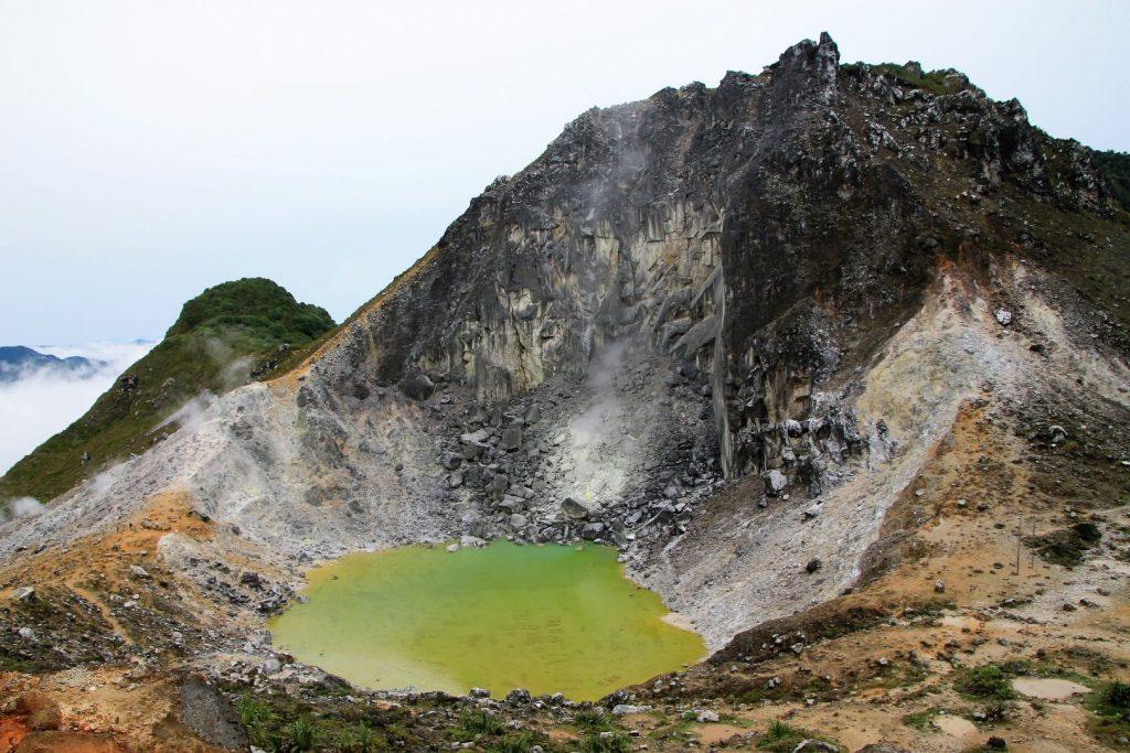 Sibayak volcano